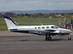 N789MD Cessna 340 (Aircaft @ Gloucestershire Airport By James) Tags: james airport gloucestershire cessna lloyds 340 egbj n789md