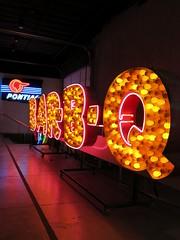 Chris & Pitt's BAR-B-Q Sign at the Museum of Neon Art (MONA) in Glendale, CA (hmdavid) Tags: california chris sign museum vintage restaurant design neon glendale mona valley barbeque sanfernando midcentury pitts museumofneonart