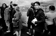 260-S42/036 (Jock?) Tags: street bw film nikon kodak surveillance documentary australia melbourne victoria hawkeye nikkor citysquare f4 reportage 2011 2485 24mmf28af occupymelbourne