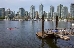 Off Spyglass Dock (Clayton Perry Photoworks) Tags: canada skyline vancouver boats spring bc yaletown falsecreek explorebc explorecanada