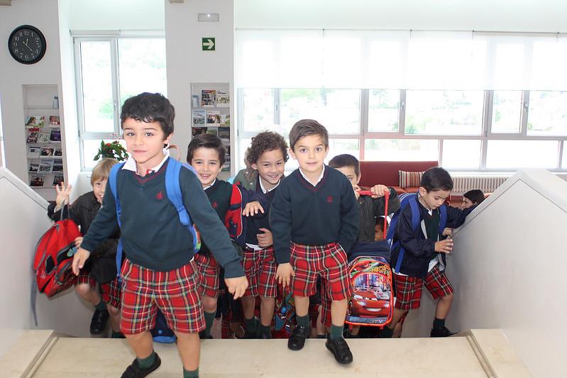 Visita del Infantil a Montecastelo