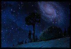 Make Room for the Magic (karith) Tags: night photoshopped yosemite universe interpretive karith