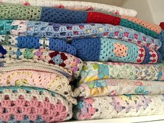 snuggly blankets (patchwork and lace) Tags: patchworkandlace handmade patchwork cathkidston shabbychic