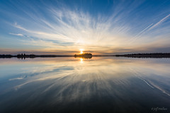 Liquified (WherezJeff) Tags: ca sunset lake canada nationalpark alberta elkisland goldenhour 2016 fortsaskatchewan astotin