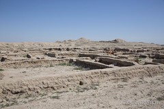 Gonur Tepe (Rolandito.) Tags: site archaeological turkmenistan tepe gonur ecavation
