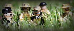 US Combat Operators (Brick Police) Tags: green marine lego navy seals minifigure berets recon citizenbrick