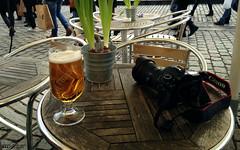 Beer Break (William MacGregor) Tags: camera beer digital canon copenhagen table relax denmark cafe europe break phone drink outdoor samsung alcohol 5d dslr iphone twop damncool twtp yourbestoftoday macgregorwilliam