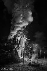 Fucarazza 2016 (Simone Stella) Tags: light fire nikon italia bn 1750 tamron puglia bianconero fumo apuglia d5100 fucarazza