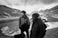 Scan-160420-0017 (Oleg Green (lost)) Tags: travel snow mountains georgia airport bessa super 400 l rodinal fomapan 4515 wideheliar svaneti mestia