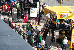 Crowd Near Kyle Busch Pit Stall (cjacobs53) Tags: auto california car club race speed fast nascar jacobs fontana rancho speedway cucamonga jacobsusa