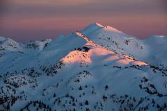 _XYZ5330dup (Jason Hummel Photography) Tags: sunset snowboarding skiing 14 lakes traverse alpenglow cascademountains granitemountain alpinelakeswilderness splitboarding skitraverse