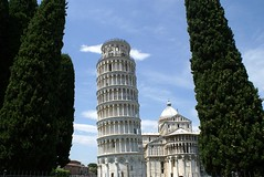 Leaning Tower of Pisa (crashcalloway) Tags: italy building tower architecture honeymoon pisa leaning leaningtowerofpisa
