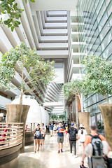 Lobby (Mister Rad) Tags: architecture hotel singapore interior lobby nikond600 marinabaysands nikon2485mmf3545