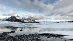 Revelations (Lindi m) Tags: ice reflections iceland lagoon glacier thaw fjallsarlon