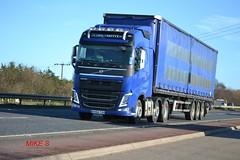 Volvo FH4 reg KX64 TOH (erfmike51) Tags: lorry artic curtainside euro6 volvofh4