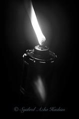 Light... (Syahrel Azha Hashim) Tags: travel light vacation bw holiday detail 35mm festive prime blackwhite nikon dof bokeh getaway traditional craft bamboo celebration malaysia handheld shallow tradition pelita d5000 syahrel
