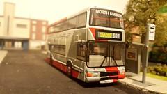 Northumbria on the move (Titanlad) Tags: olympian ooc modelbus northumberia northencounties