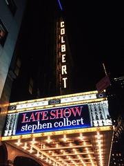 The Late Show with Stephen Colbert! #Colbert #LateNight #love #funny #NewYorkNewYork #TimesSquare (kelsey_erinbook13) Tags: love funny latenight timessquare newyorknewyork colbert