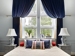 modern-townhouse-moscow-15 (ideasandhomes) Tags: house design bedroom russia moscow interior townhouse dcor