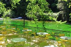 La Sorgue (john--paul) Tags: water jaune table eau couleurs ngc vert cascade fontaine plantes vaucluse sorgue rivire