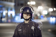 Oakland (Thomas Hawk) Tags: california usa oakland riot unitedstates unitedstatesofamerica protest police cop eastbay riots lawenforcement fav10 oscargrant johannesmehserle mehserle novatopolice mehserleverdictprotest110510 novatopd novatopolicedepartment