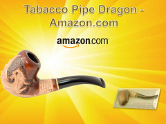 Tobacco Pipe DRAGON - Amazon.com (thebeckymcdonald) Tags: amazon health browncolor smokingpipe tobaccopipes coolingfilter 14cm tobaccopipedragonfits9mmcoolingfilter greatestpipes sps15