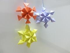 Snowflake (hyunrang) Tags: snowflake 3d origami hur