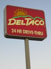 Del Taco, Canoga Park (TedParsnips) Tags: fastfood deltaco canogapark