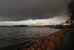 Sun Reflection (frata60) Tags: sky holland water netherlands skyscape landscape nikon nederland d200 groningen lucht landschap haren luchten groothoek harengn