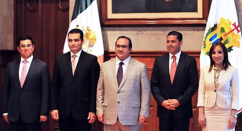 El gobernador Javier Duarte asistió a la toma de Protesta de nuevos Funcionarios