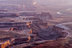 Frosted Rims (DMontalbano) Tags: road park trip travel light sunset red west green dan rock river landscape photography utah view desert salt canyon national american canyonlands vista moab rim rims overlook montalbano 500px ifttt