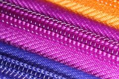 Zipped (KateKab) Tags: pink stilllife orange colour macro purple bright vibrant zipper zip pencilcase macromonday vibrantminimalism