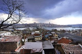 Snow Coming Back Istanbul Peninsula