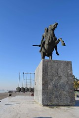 Alexander the Great,Thessaloniki,Greece. (fil_____) Tags: blue sky statue ancient nikon ngc greece thessaloniki timeless macedonian alexanderthegreat makedonia greekhistory     macedoniagreece  nikond3300