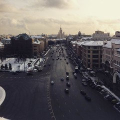 #moscow #city #friday #mood