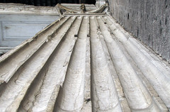 Pantheon porch pilaster
