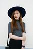 DSC_3750 (Likeabyul) Tags: china portrait paris france fashion french asian chinese style korean hm asiangirl asos frenchblogger fashionblog widebrimmedhat fashionblogger highnecktop stylenanda