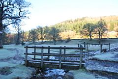 Betwys y Coed (philept1) Tags: bridge winter wales woodland river outdoors countryside frost view valley snowdonia conwy afon llugwy betwys