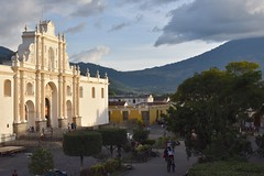 DSC_5852 (Kent MacElwee) Tags: park sky church latinamerica clouds highlands guatemala religion historic antigua plazamayor centralamerica parquecentral 1541 saintjosephcathedral spanishcolonialcity