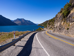 Road Trip (Saaliahc) Tags: street newzealand sky lake landscape strasse landschaft neuseeland omdm5