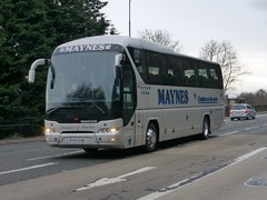 N70 GSM (Cammies Transport Photography) Tags: road england man bus scotland coach edinburgh rugby v n70 gsm specials neoplan corstorphine maynes n70gsm