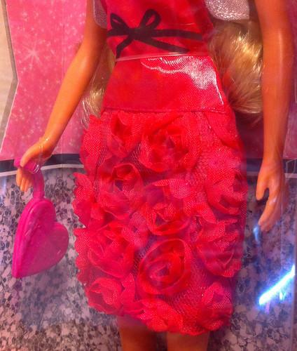 Steffi Love rose dress close-up