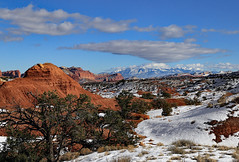 Capitol Reef and the Henry Mountains (Bob Palin) Tags: winter usa mountain snow cold southwest ice water 1025fav canon landscape utah nationalpark sandstone outdoor january 100v10f capitolreef redrock cloudscapes 100vistas instantfave canonef24105mmf4lisusm henrymountains ashotadayorso ut24 cloudsstormssunsetssunrises orig:file=2016011504287