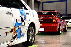 Toyota Mark II & Isuzu Gemini (Andre.32) Tags: cars car japan photography toyota 日本 daydream gemini markii isuzu galaxyangel acttower いすゞ toyotamarkii x110 itasha 痛車 ギャラクシーエンジェル ストライクウィッチーズ jzx110 isuzugemini ミント・ブラマンシュ アクトシティ浜松 リネット・ビショップ ウィルマ・ビショップ