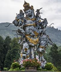 _71K4654.jpg (Pete Finlay) Tags: bali statue bedugul hindustatue balibotanicgarden
