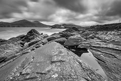 Hitech Prostop in Ireland (Alja Vidmar | ADesign Studio) Tags: longexposure sea blackandwhite lighthouse nature clouds landscape nikon wideangle hitech ndfilter prostop
