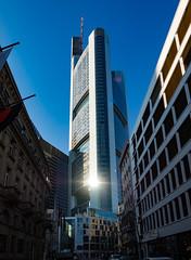 Frankfurt a. Main - Commerzbank Tower (rainerralph) Tags: olympus deutschland hessen frankfurtammain commerzbanktower commerzbank germany architecture omdem1 objektiv1240pro architektur frankfurt bethmannstrase
