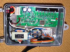 ATS (Aldridge) Audio Tactile Transducer Driver Unit (RS 1990) Tags: ats aldridge audio tactile transducer housing driver box case electronic february 2016 pcb circuitboard components capacitors chips transistors heatsink whatsinside