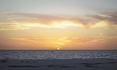 Ocean Sunset (Schwaco) Tags: ocean sunset red orange sun hot beach gulfofmexico water sunshine coast sand warm florida warmth shore orangesky redsky naplesflorida naplesfl