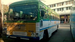 MSRTC Push Back Hirkani Ratnagiri Pune Station (kunalas440) Tags: volvo scania shivneri msrtc punestation maharashtrastateroadtransportcorporation msrtcbusstand msrtctatabus msrtcashokleylandbus msrtcpushback msrtchirkani